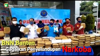 BNN Provinsi Banten Gagalkan Penyelundupan Narkoba