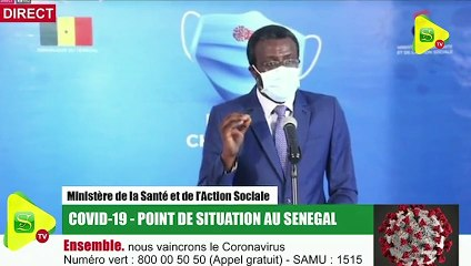 """Dr Bousso/Covid-19 :  """"Le Sénégal est en voie de maîtriser la maladie"""""""