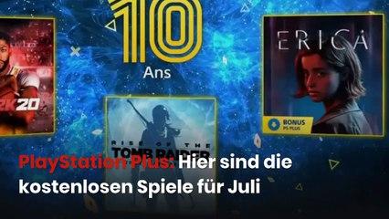 PlayStation Plus: Hier sind die kostenlosen Spiele für Juli