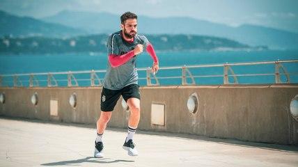 Cesc Fabregas training in Monaco