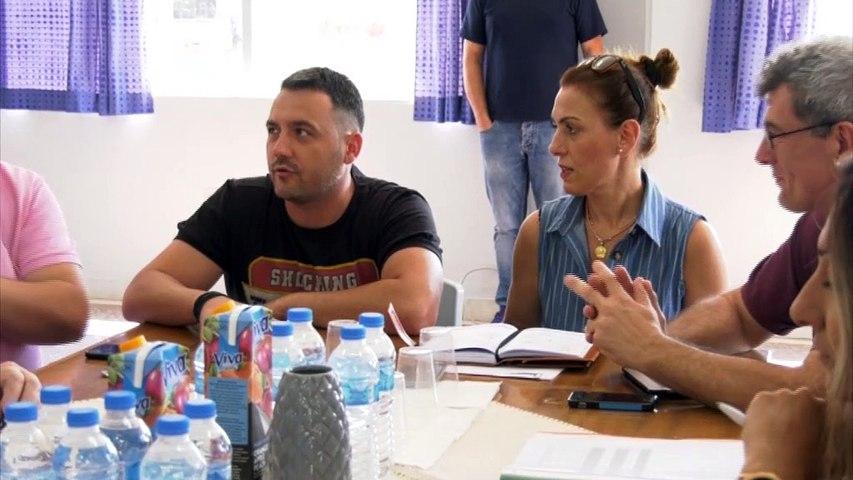 Ο Γ.Γ. Γραμματέας Κοινωνικής  Αλληλεγγύης Γιώργος Σταμάτης στη Λαμία για τους Ρομά