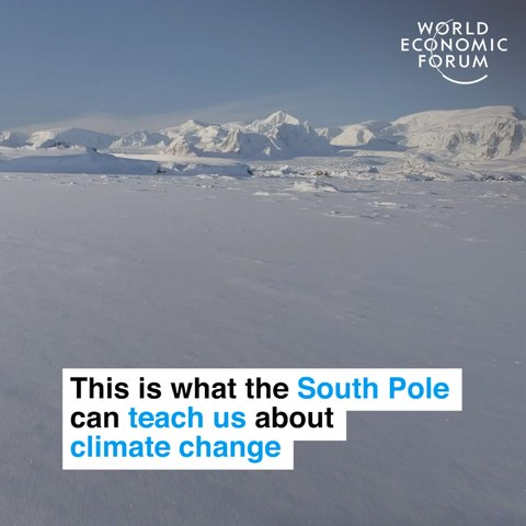 This is what the South Pole can teach us about climate change