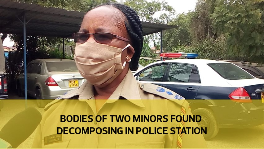 Bodies of two minors found decomposing at police station