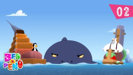 Beo n Peno - Big Fish Competition - Episode 2 - Cartoon for kids
