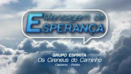 MENSAGEM DE ESPERANÇA 26/06/2020