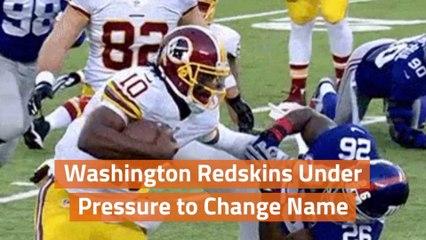 Washington Redskins And The Name