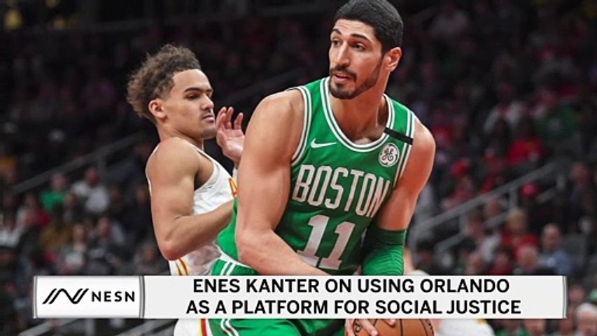Enes Kanter on Using Orlando as a Platform for Social Justice