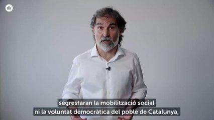 Cuixart: 'El nostre límit mai més no pot ser ni la presó ni l'exili'