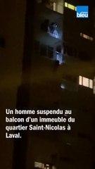 Sauvetage insolite à Laval