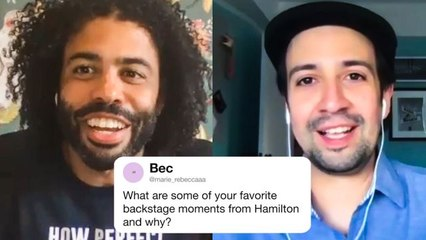 The Hamilton Cast Answers Hamilton Questions From Twitter