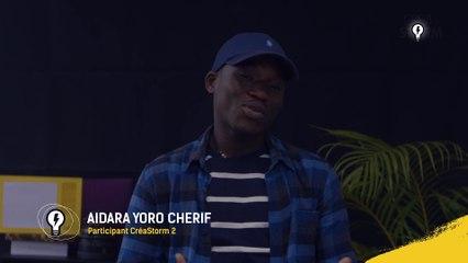 Partage d'expérience avec Aïdara Yoro Cherif, Participant du CréaStorm S02