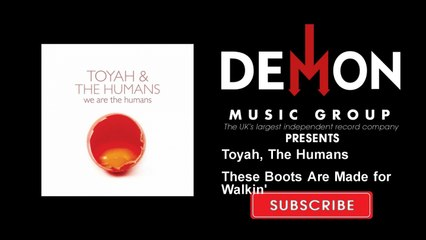 Toyah, The Humans - These Boots Are Made for Walkin' - feat. Robert Fripp