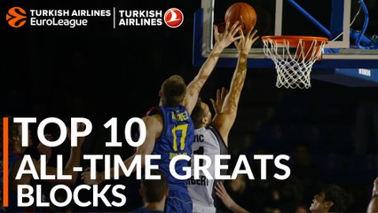 Top 10 All-Time Greats: Blocked shots