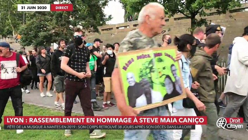 Lyon : rassemblement en hommage à Steve Maia Caniço