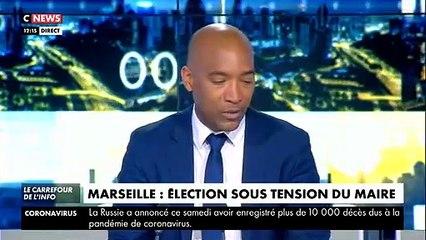 Mairie de Marseille - Les résultats du premier tour du Conseil Municipal sont publiés et en tête Michèle Rubirola : 42 voix, Guy Teissier : 41 voix
