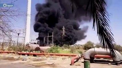 انفجار هائل في محطة لتوليد الطاقة بإيران