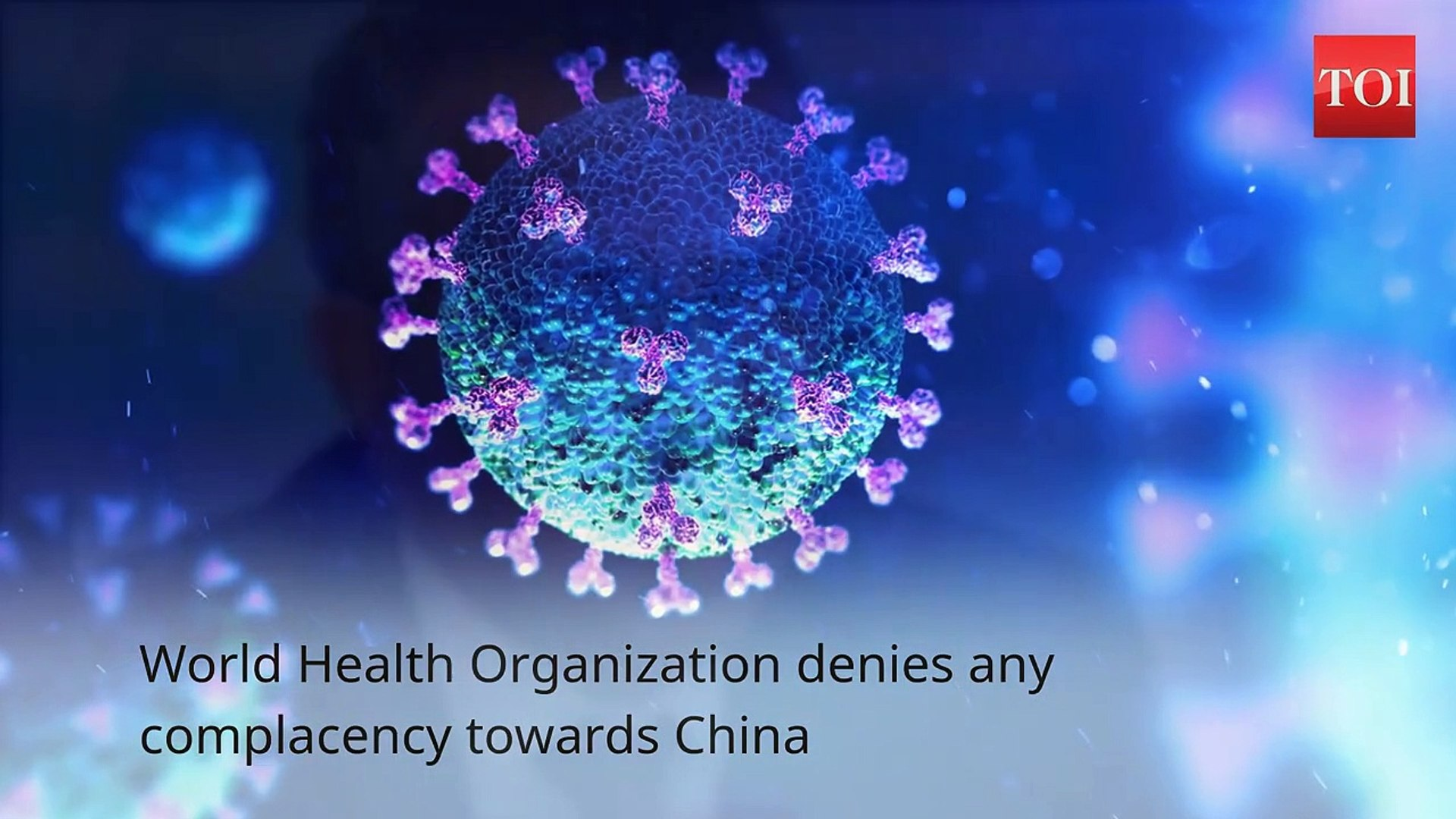 COVID-19- Not China, first alert about virus from our office, says WHO