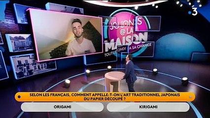 """L'énorme bug de France 3 hier soir à 20h40 pendant """"Jouons à la maison"""" d'Alex Goude... qui a été coupé brutalement et remplacé par 20 minutes de bandes annonces !"""