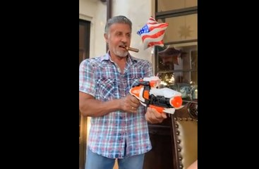 Sylvester Stallone 4th Of July fights his brother and daughter Sistine