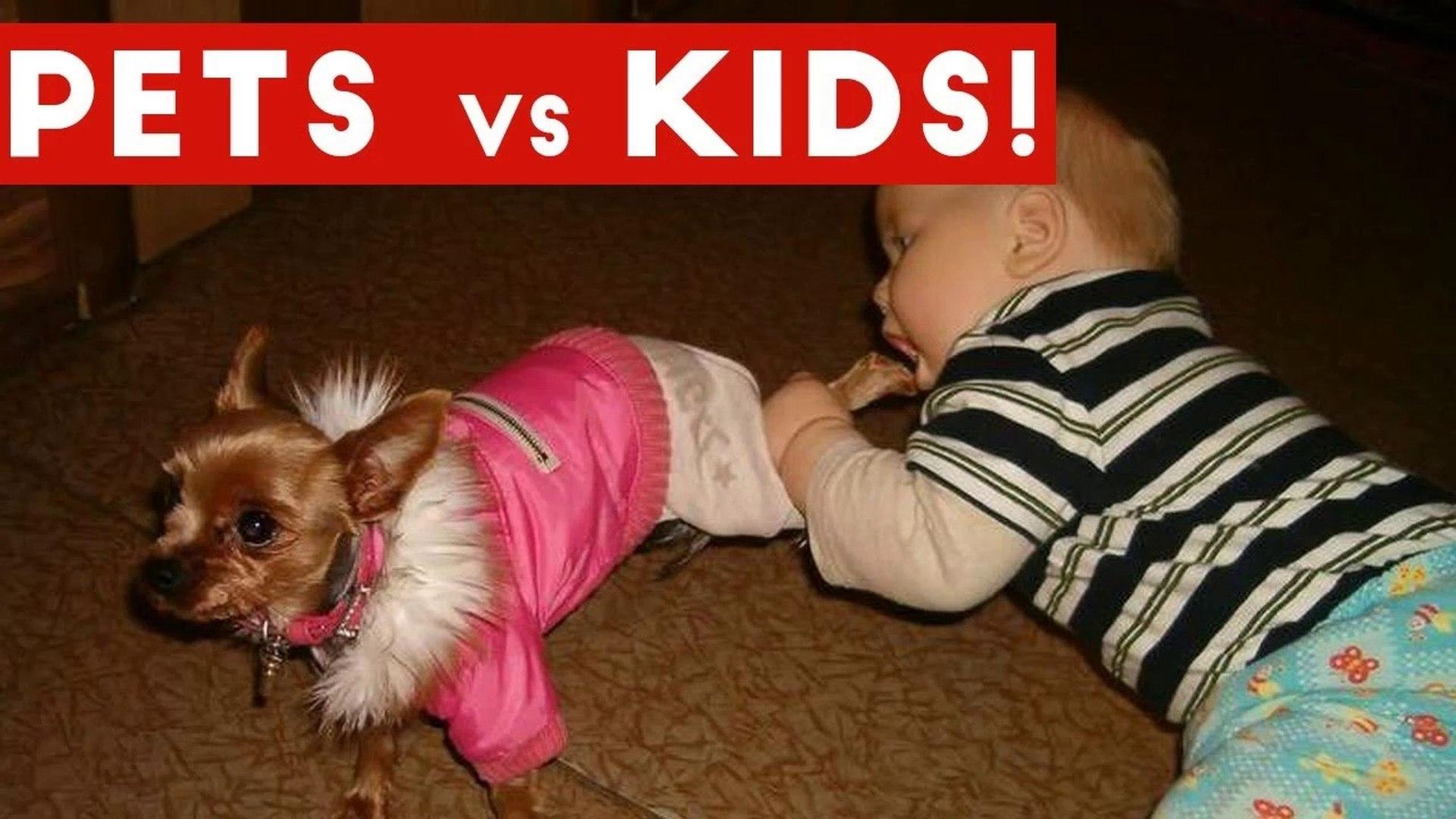 Funniest Pets Vs Kids Video Compilation December 2016 _ Funny Pet Videos