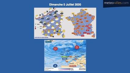 Bulletin Météo du 04 07 2020