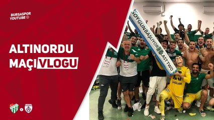 """""""Bursaspor'un Büyüklüğü Değişmez"""" Altınordu Maçı Vlogu Yayında!"""