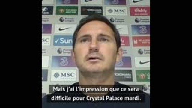 Kanté (Chelsea) incertain face à Crystal Palace