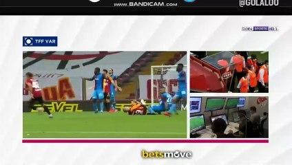 Feghouli carton rouge vs Trabzonspor