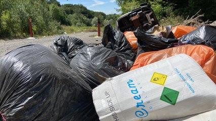 Les dépôts sauvages d'ordures à la carrière centrale de Forbach ont repris avec le déconfinement