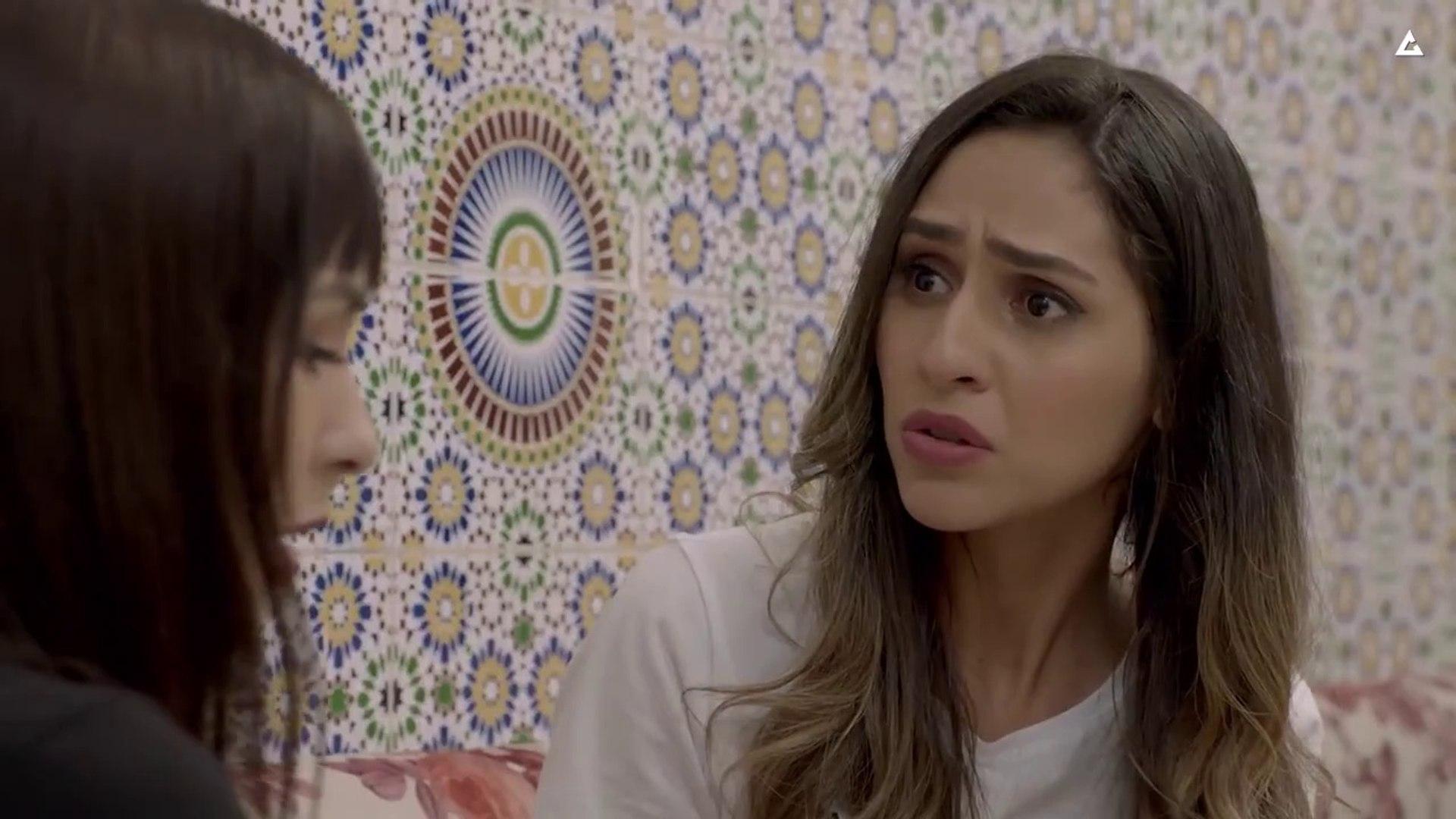 مسلسل مغربي أبو البنات الحلقة 12