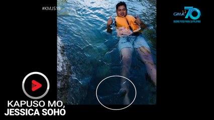 Kapuso Mo, Jessica Soho: Elemento sa Minalungao River, nangunguha raw ng mga pogi?!