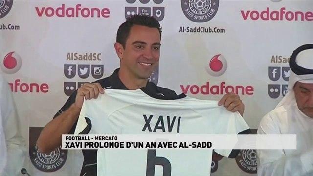 Xavi prolonge d'un an avec AL-Sadd