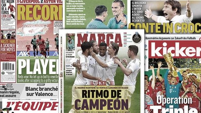 Antoine Griezmann sort enfin la tête de l'eau au Barça, Chelsea veut poursuivre son mercato ambitieux
