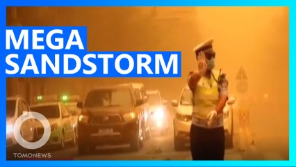 Apocalyptic Sandstorm Engulfs Chinese City in Minutes