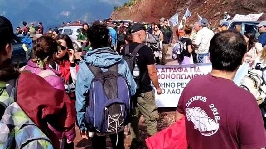 Άγραφα: Νέα μεγάλη κινητοποίηση ενάντια στα αιολικά