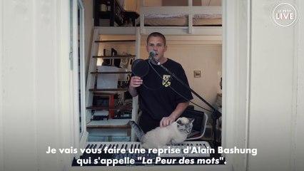 Hervé - La peur des mots (Alain Bashung)   LIVE