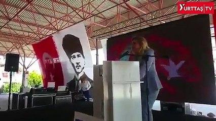 İYİ Partili Aylin Cesur'un konuşması sosyal medyada gündem oldu: Salda'nın kumunu tek tek alır, onların uygun yerlerine monte ederiz