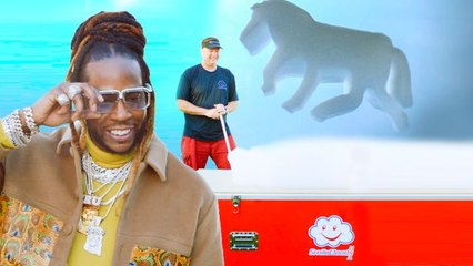 2 Chainz Checks Out $9K Floating Foam Clouds
