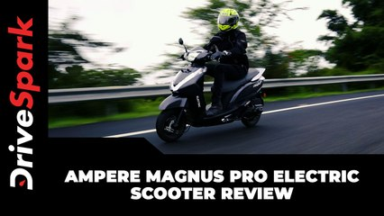 Ampere Magnus Pro Electric Scooter Review | Does It Live Up To Its 'Flagship' Title?