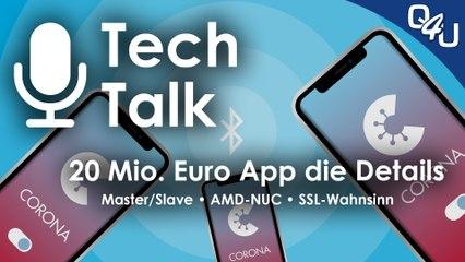 20 Mio. € App, Master/Slave, AMD-NUC, SSL-Wahnsinn, Hyper Scape | QSO4YOU.com Tech Talk #28