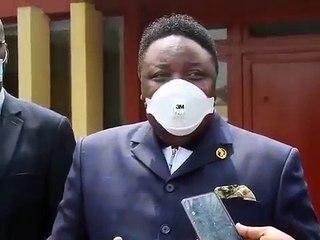 """Joseph Olengankoy a rencontré ce lundi, les différents responsables religieux dans l'objectif de """"débloquer"""" le dossier sur la désignation du prochain président de la  Ceni"""