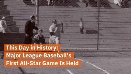 The First All-Star Game