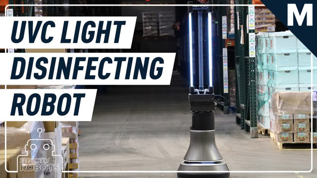 This robot is designed to disinfect a warehouse floor in 30 minutes— Strictly Robots