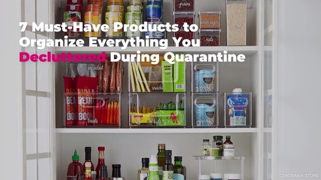 7 Must-Have Products to Organize Everything You Decluttered During Quarantine
