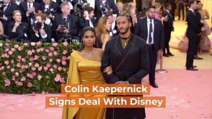 Colin Kaepernick Goes Full Disney