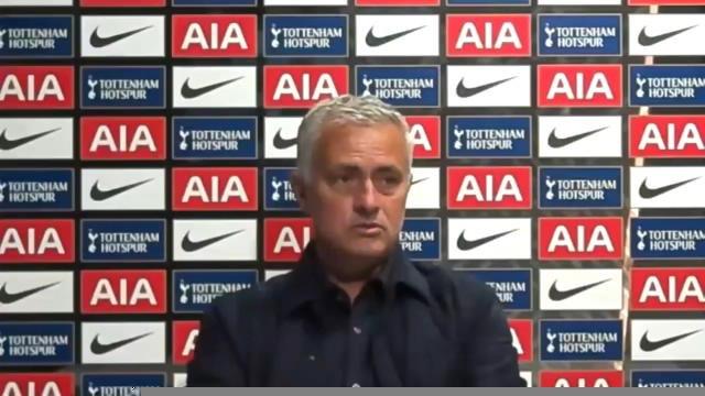 """33e j. - Mourinho : """"Rien de mal entre Lloris et Son"""""""