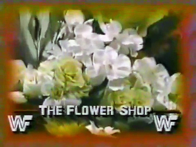 Roddy Piper interrupts Adrian Adonis' Flower Shop with Iron Sheik, Nikolai Volkolf, Freddie Bla