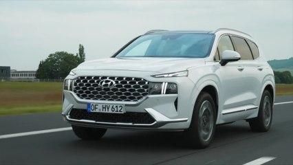 2021 Hyundai Santa Fe Driving Video