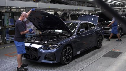 Production of the new BMW 4 Series Coupé at BMW Group Plant Dingolfing - Assembly