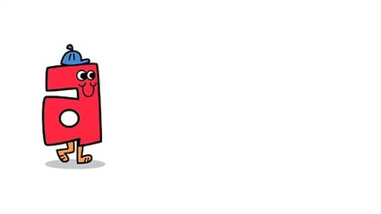 Akili Kids! TV Station ID: Letters